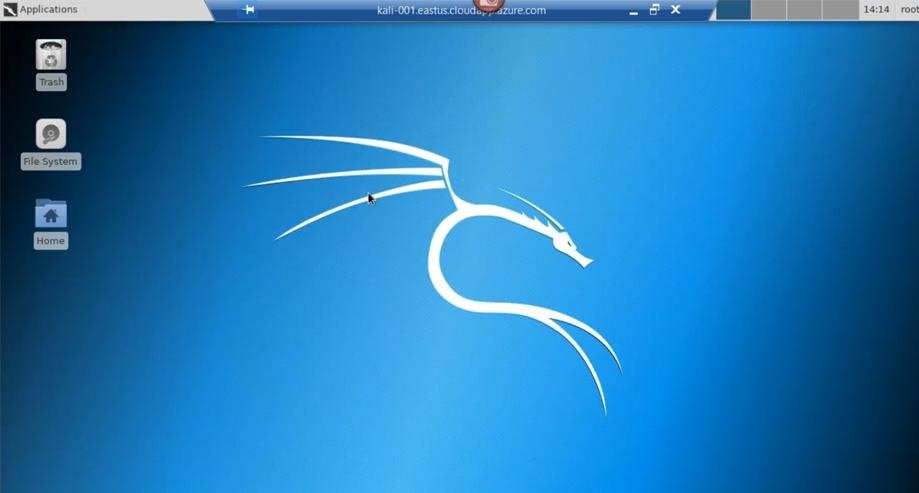 Kali Linux in Microsoft Azure