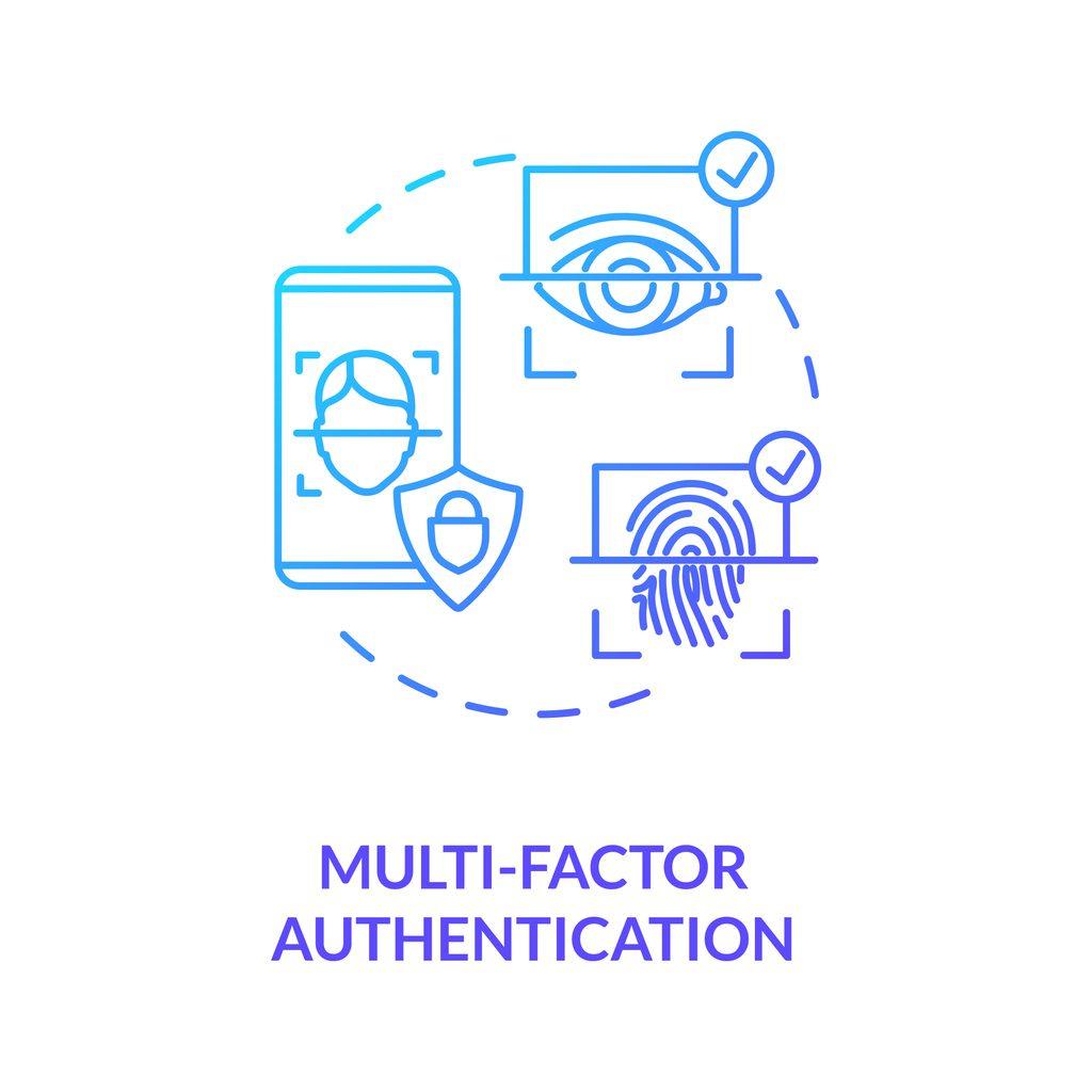 Multi-factor authentication concept